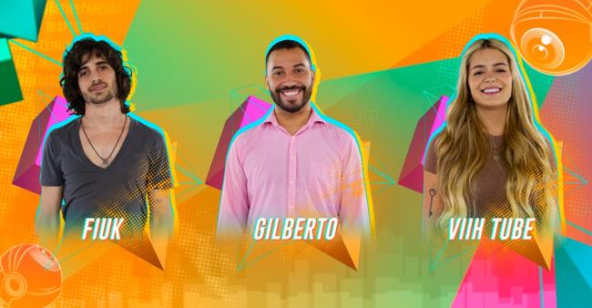 Quem sai do BBB: Fiuk, Gilberto ou Viih Tube?