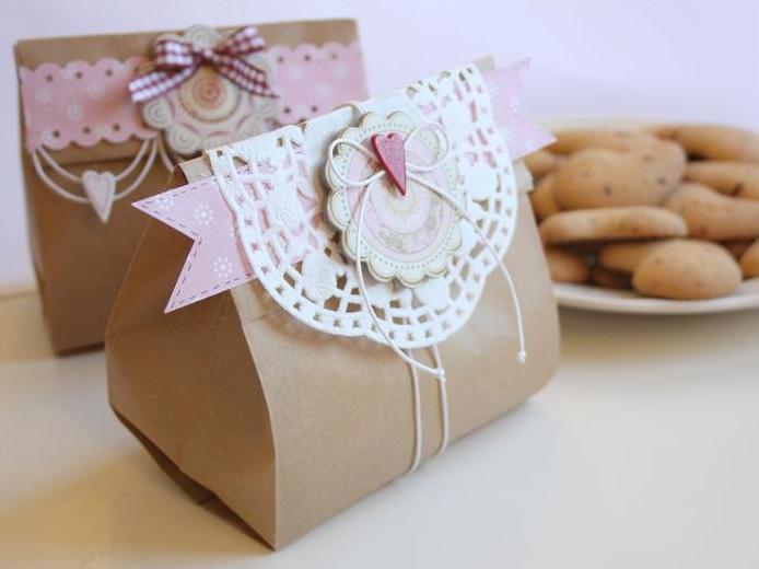 Embalagem criativa para trabalhos artesanais