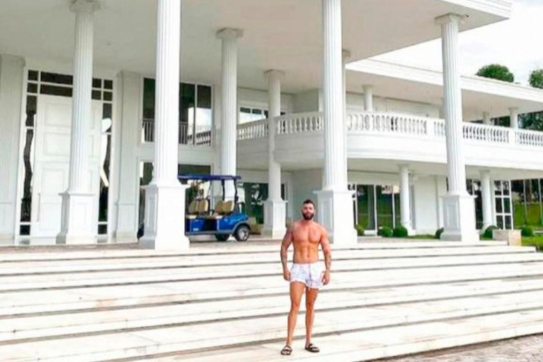 mansão famosos: Gusttavo Lima