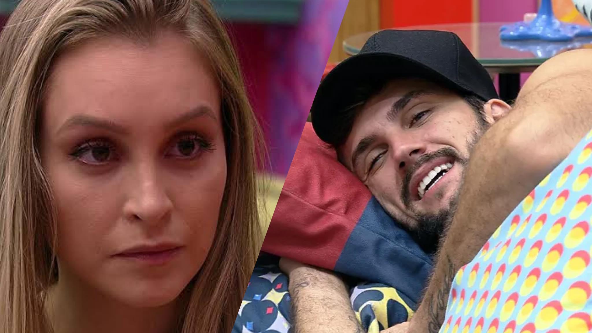 Arthur revelou que antes de Carla Diaz se interessou por outra sister no BBB 21 (montagem/ Fashion Bubbles)