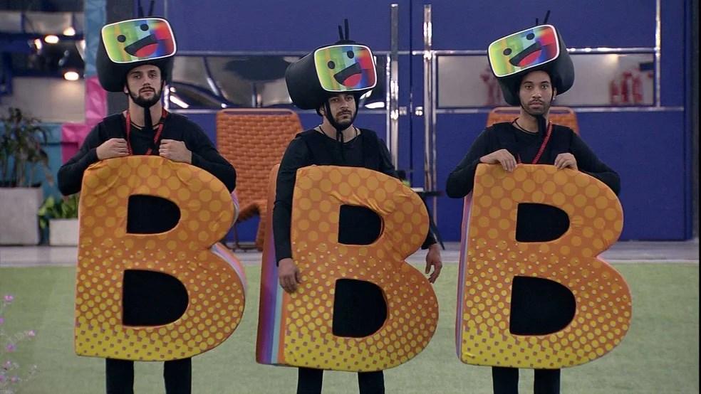 Arthur, Caio e Gilberto estão no castigo do monstro - Globo bbb 21