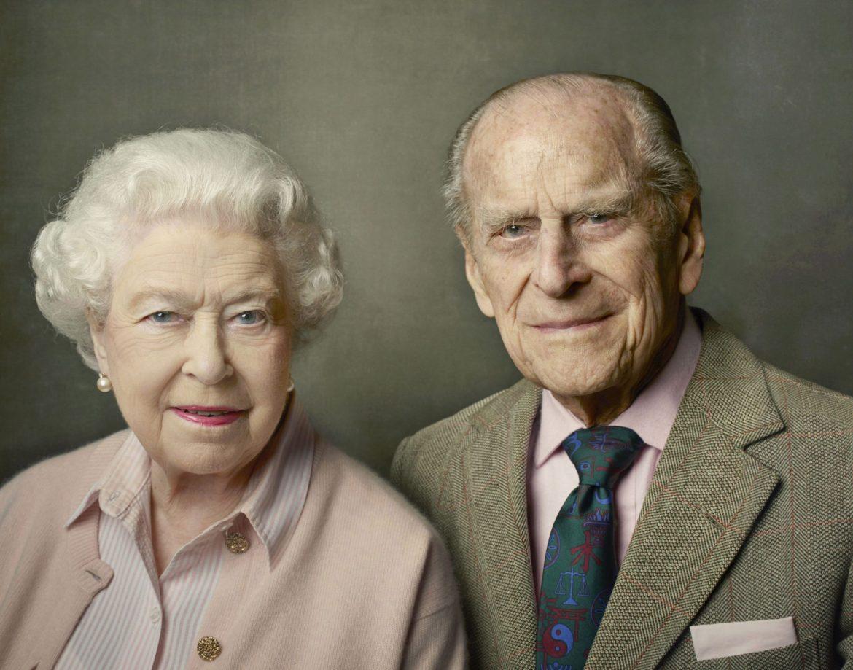 Príncipe Philip e Rainha Elizabeth II.