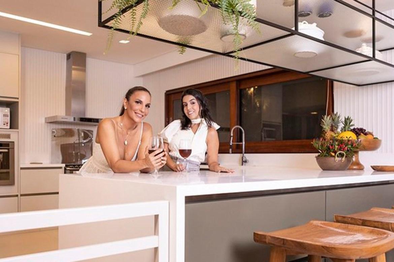 mansão dos famosos: Ivete Sangalo