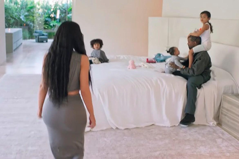 Quarto de Kim Kardashian
