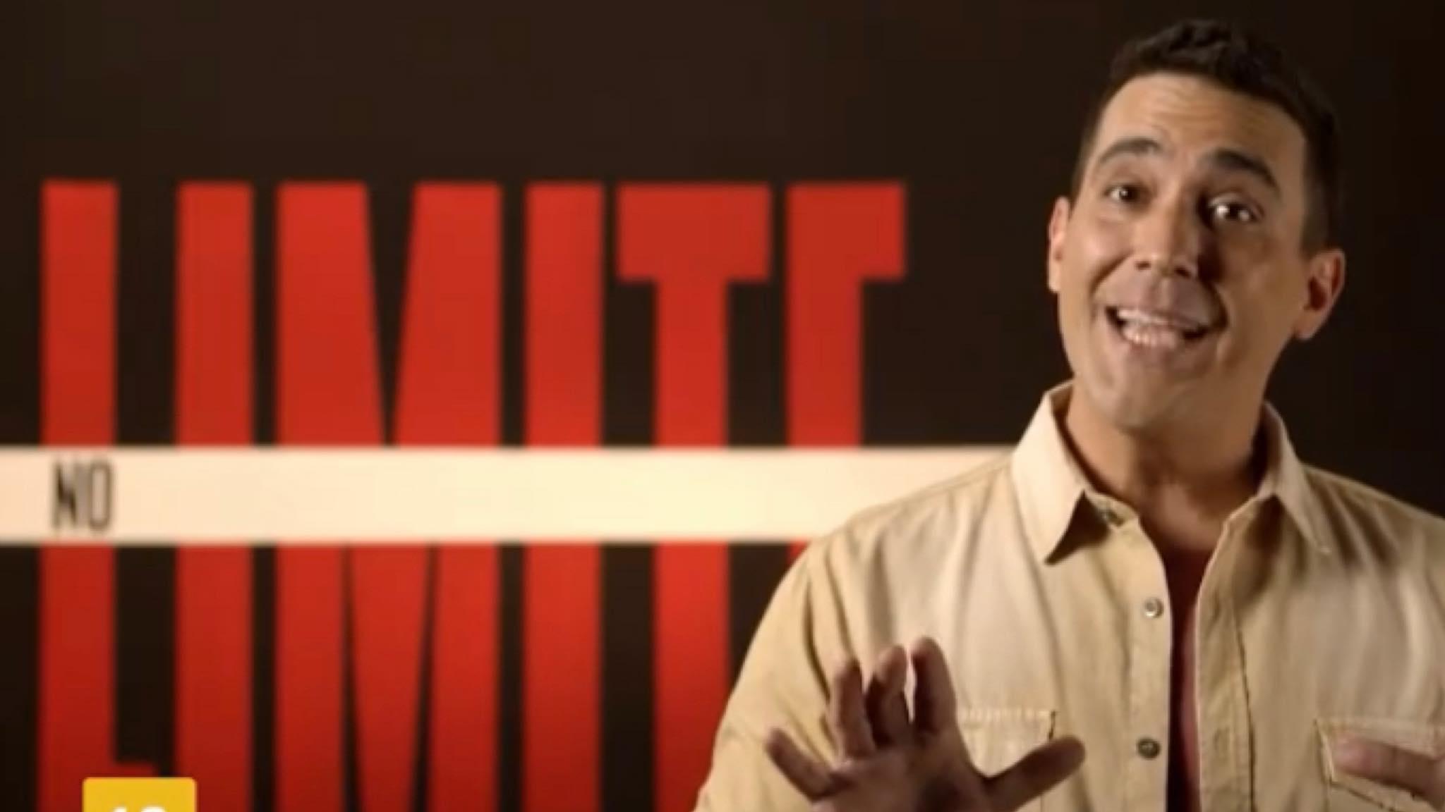 André Marques comandará o novo No Limite 5 que estreia em maio na Globo (imagem: reprodução/ Globo)
