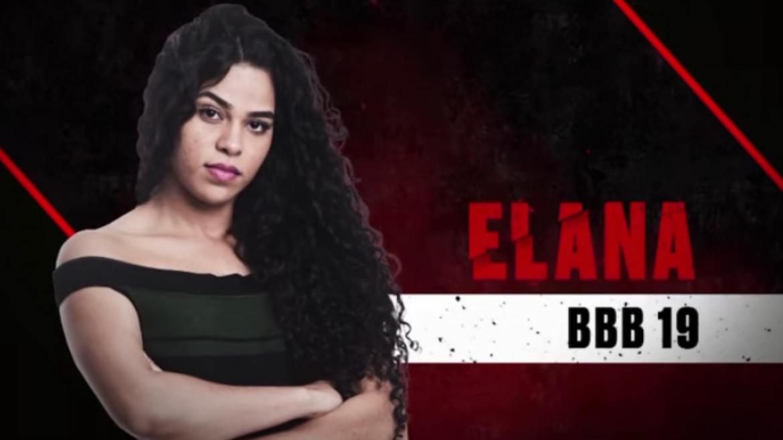 Elana esteve no BBB19 (imagem: divulgação/ Globo)