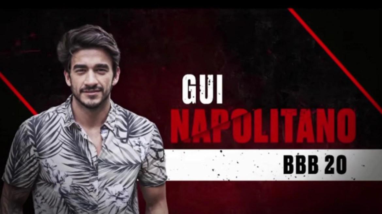 Gui Napolitano, galã do BBB20, (imagem: divulgação/ Globo)