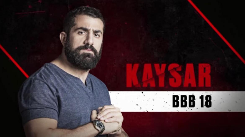 Kaysar também foi um finalista, só que do BBB18. (imagem divulgação/ Globo)