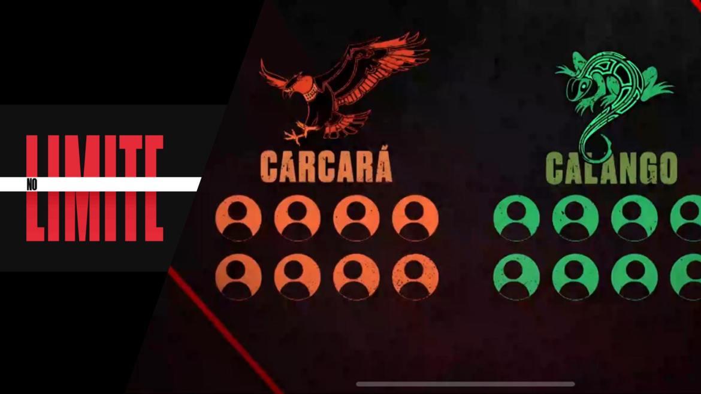 No Limite 5 será dividido em dois grupos: Calangos e Carcarás (montagem: Fashion Bubbles)