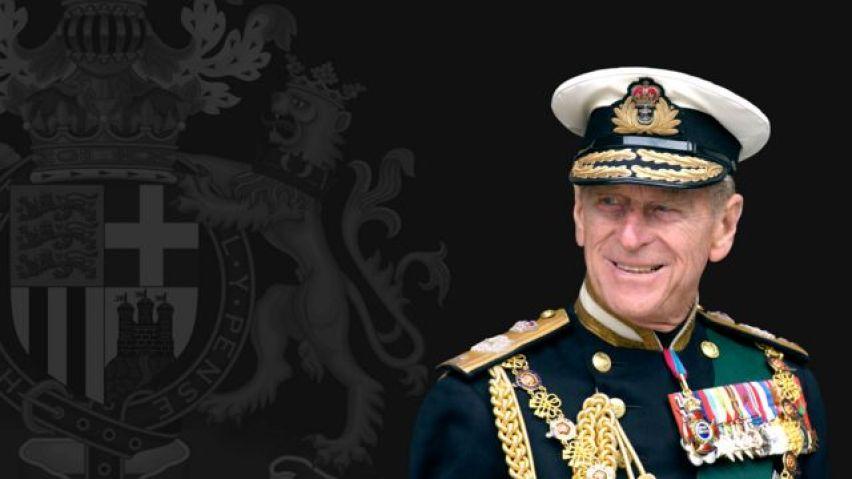 Homenagem ao Príncipe Philip.