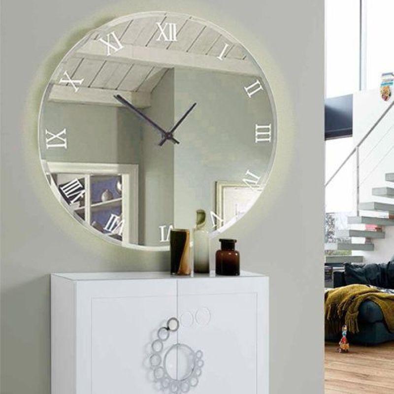 Relógio de números romanos.