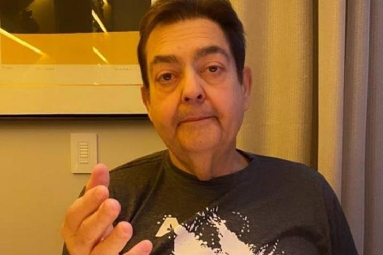 Faustão, apresentador da emissora Globo.