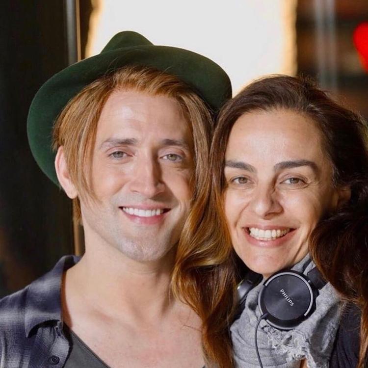 Susana Garcia Capri e Paulo Gustavo.