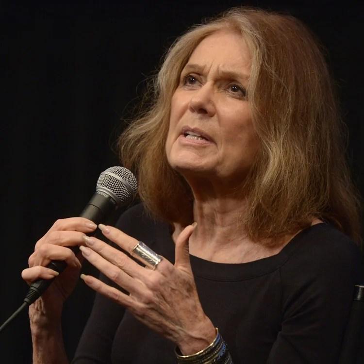 Gloria Steinem não foi mãe.