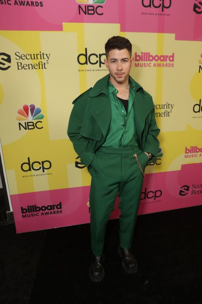 Nick Jonas no Billboard Music Awards 2021