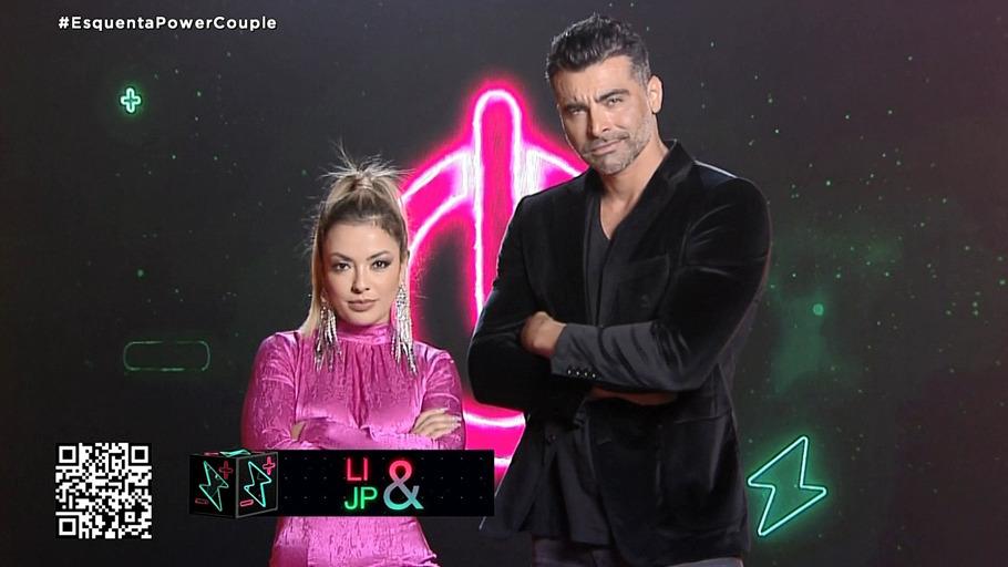 Li Martins e JP são o casal Power da semana (imagem: divulgação Record TV)