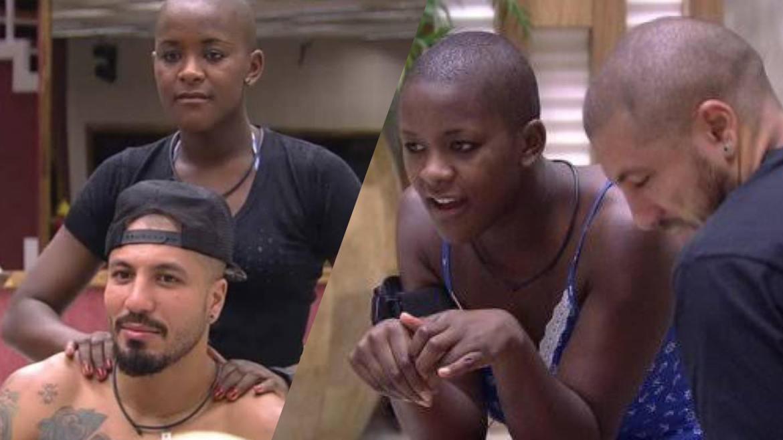 No BBB 15, a sister passou de amiga de Fernando a pior inimiga do Brother (montagem: Fashion Bubbles)