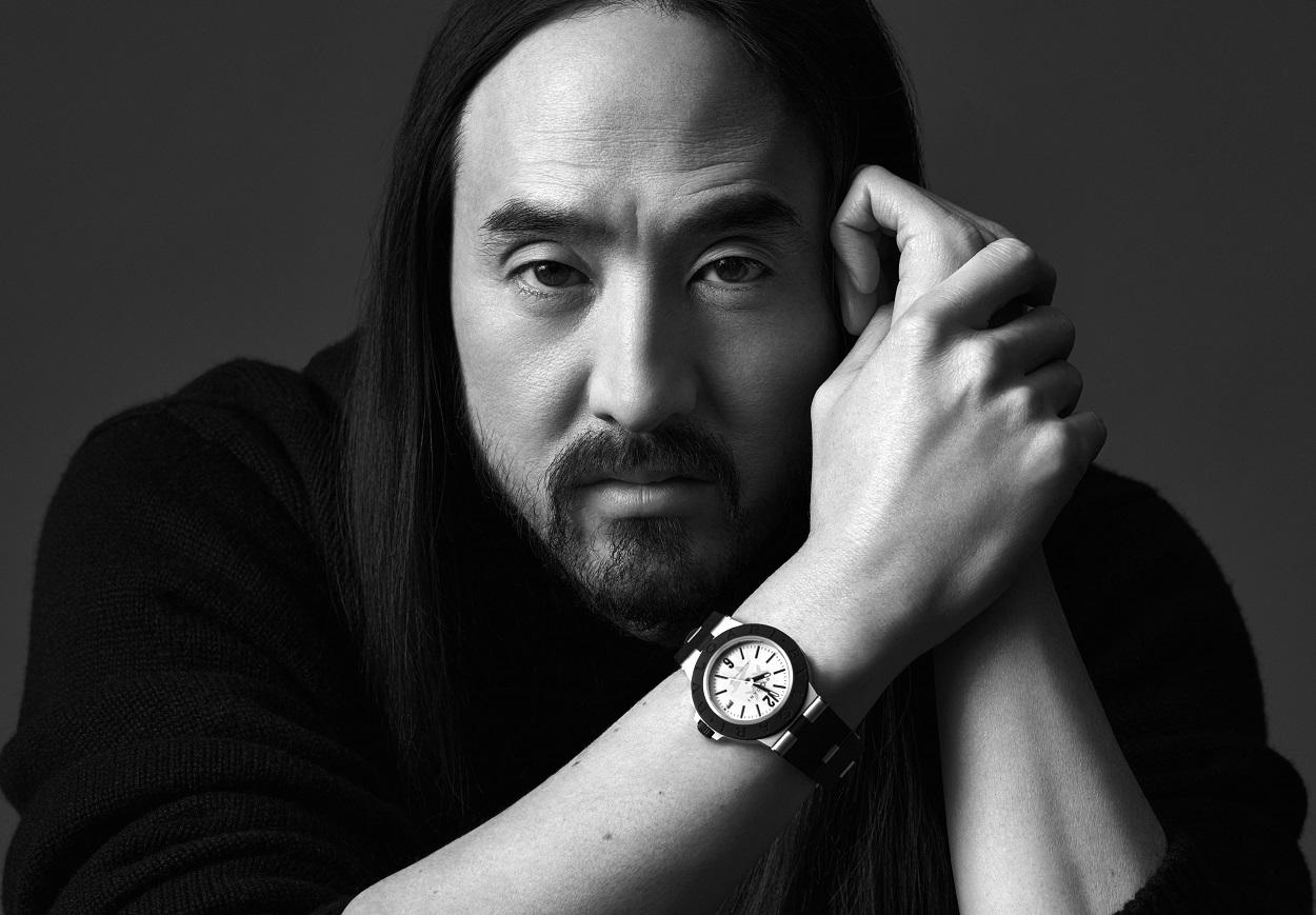 Relógio Bvlgari Aluminium Steve Aoki Special Edition.