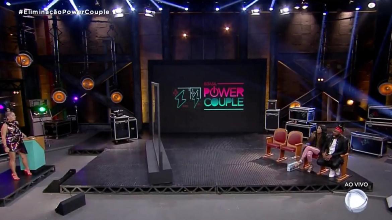 Adriane Galisteu no Power Couple (imagem: reprodução/ Record TV)
