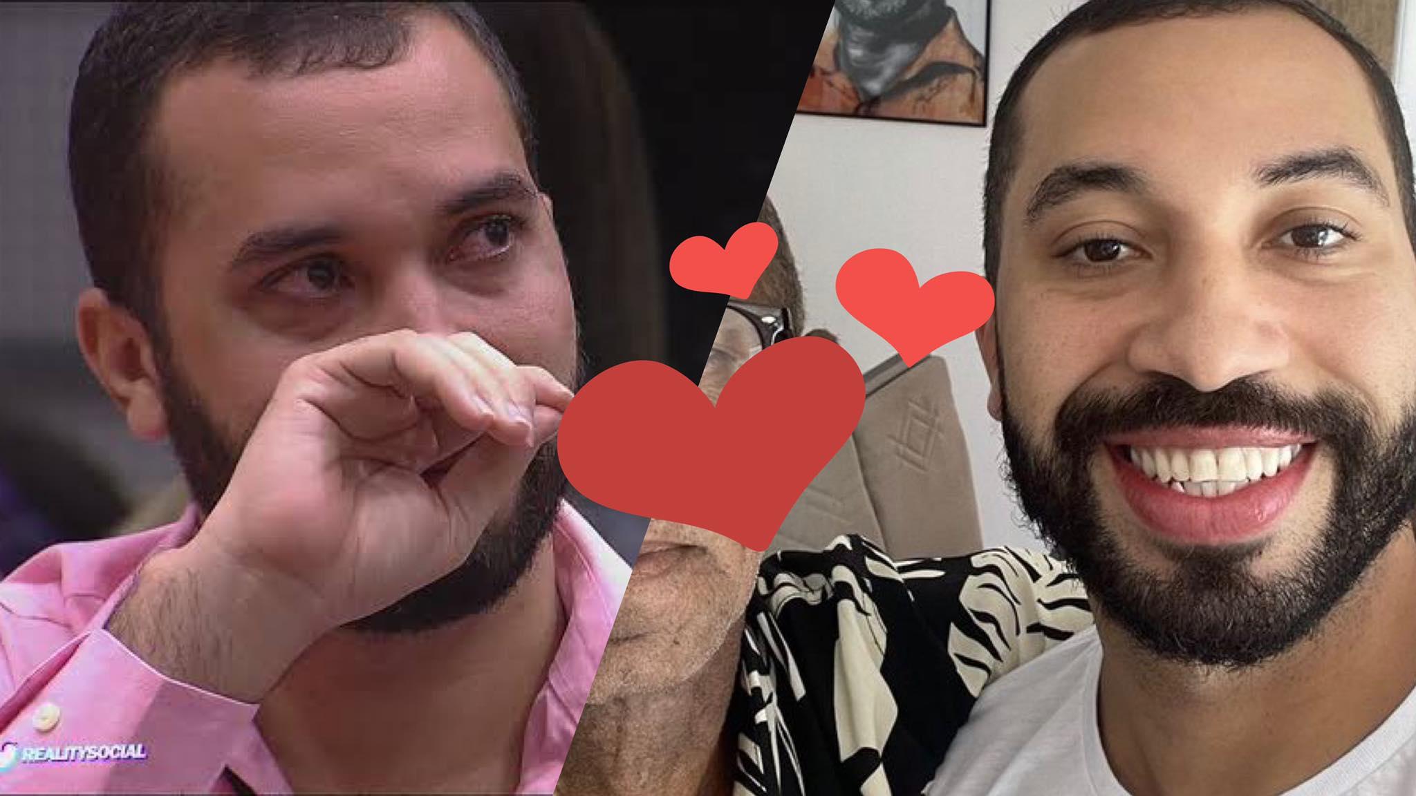 Gil do Vigor reencontra o pai e divulga foto no Instagram (montagem: Fashion Bubbles)