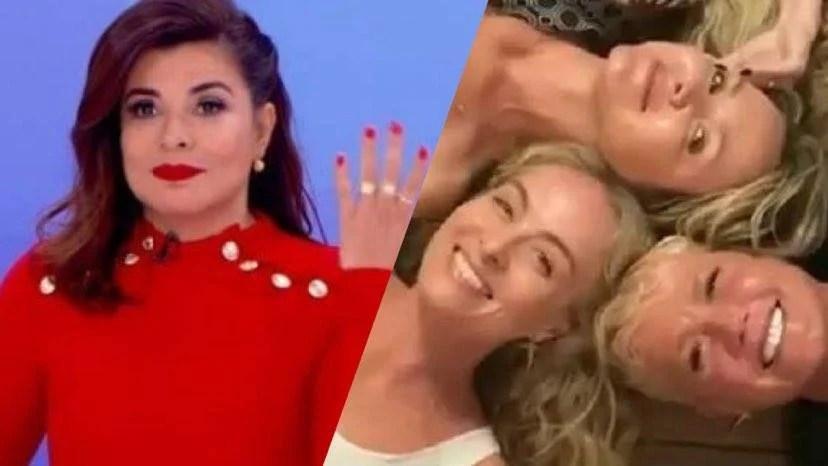 Mara Maravilha não faz parte do grupo de conversa de Xuxa, Angélica e Eliana (montagem: Fashion Bubbles)