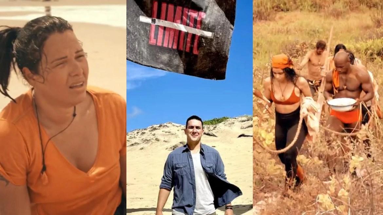 Primeiras imagens de No Limite mostram participantes passando mal e provas difíceis (montagem: Fashion Bubbles)