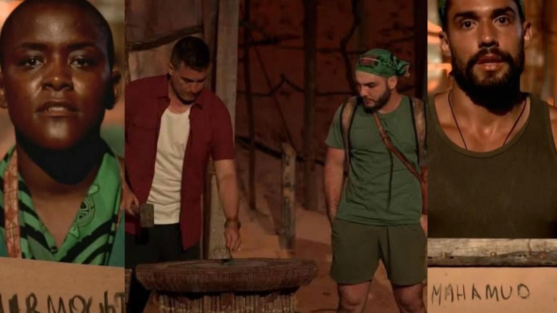 Mahmoud é o primeiro eliminado de No Limite (montagem: Fashion Bubbles)