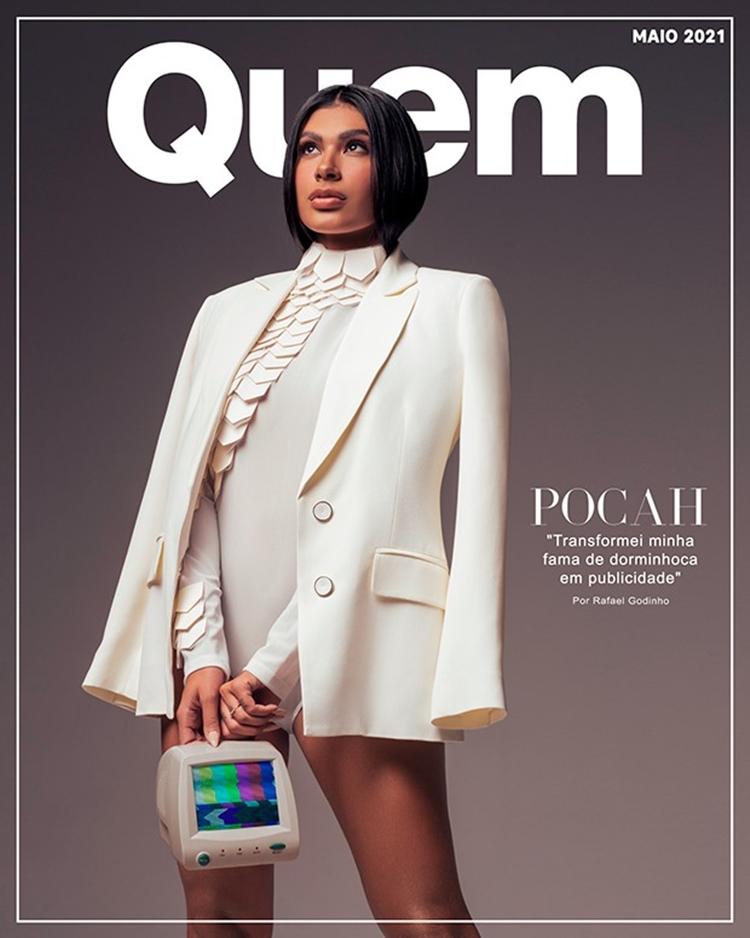 Capa da Revista Quem mês de maio.