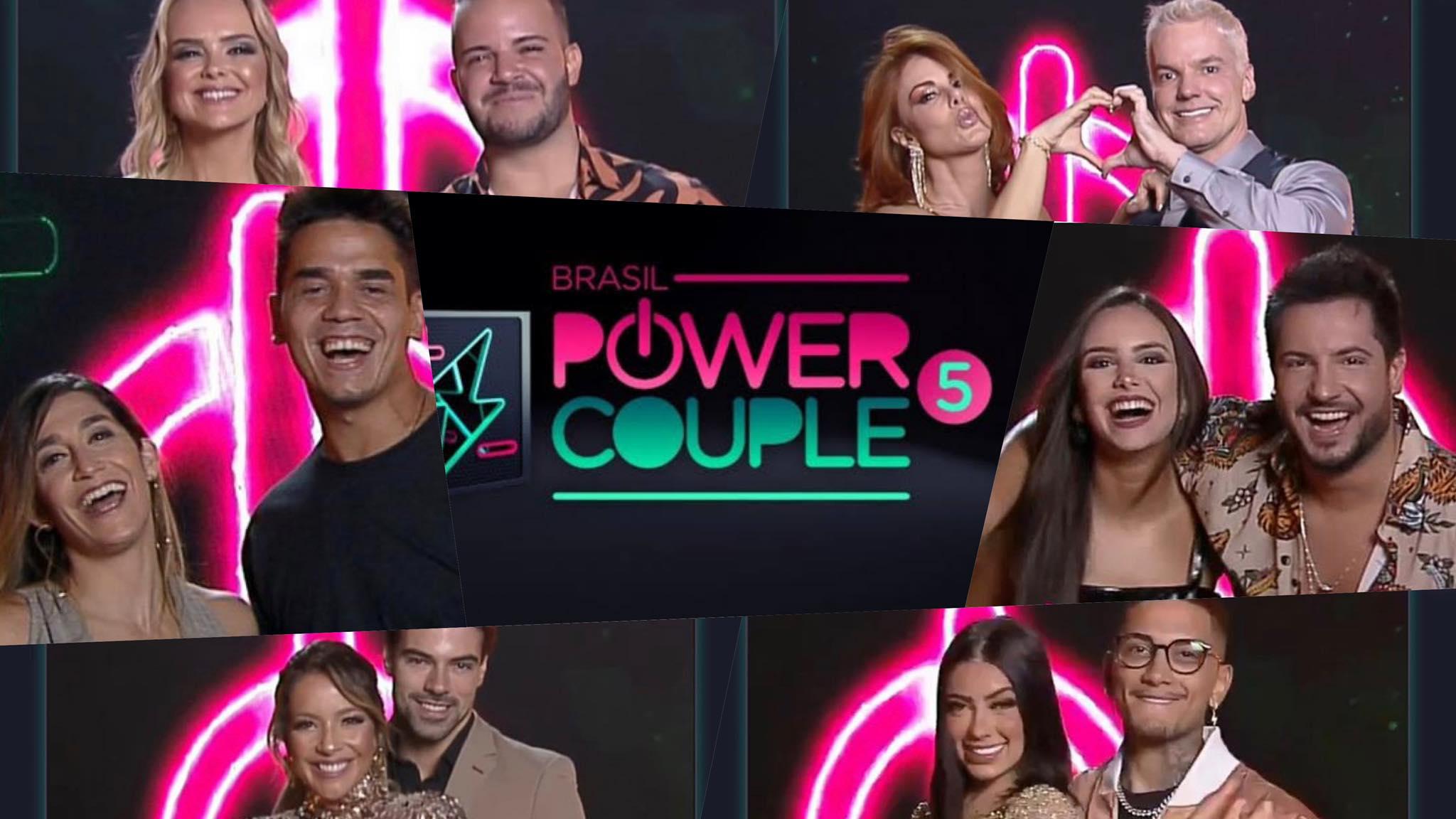 Record TV escalou 13 casais para a temporada do Power Couple (montagem: Fashion Bubble)