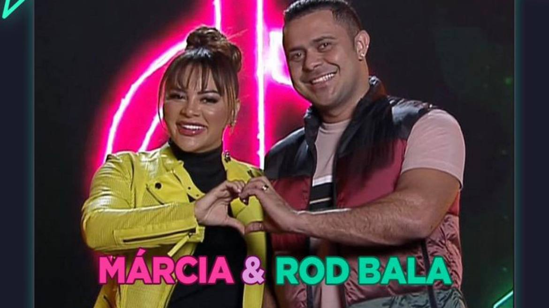 A cantora Márcia Felippe e Rod Bala prometem dar o que falar no Power Couple (imagem: Divulgação)