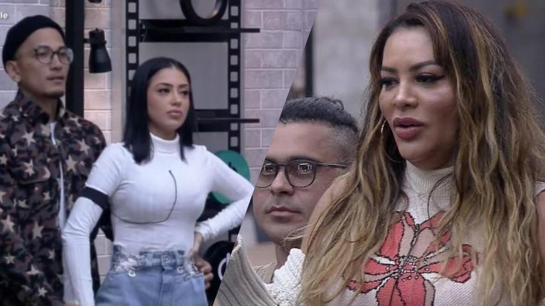 Mirella e Dynho colocaram Márcia Fellipe e Rod Bala na DR do Power Couple (montagem: Fashion Bubbles)