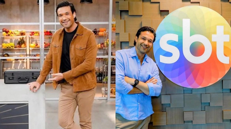 Sergio Marone assinou com o SBT em março de 2021. Ele apresenta o reality Mestre da Sabotagem (montagem: Fashion Bubbles)