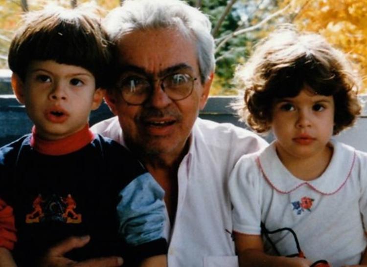 Chico Anysio e filhos.