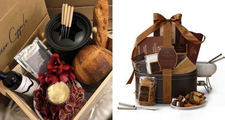 cesta de fondue