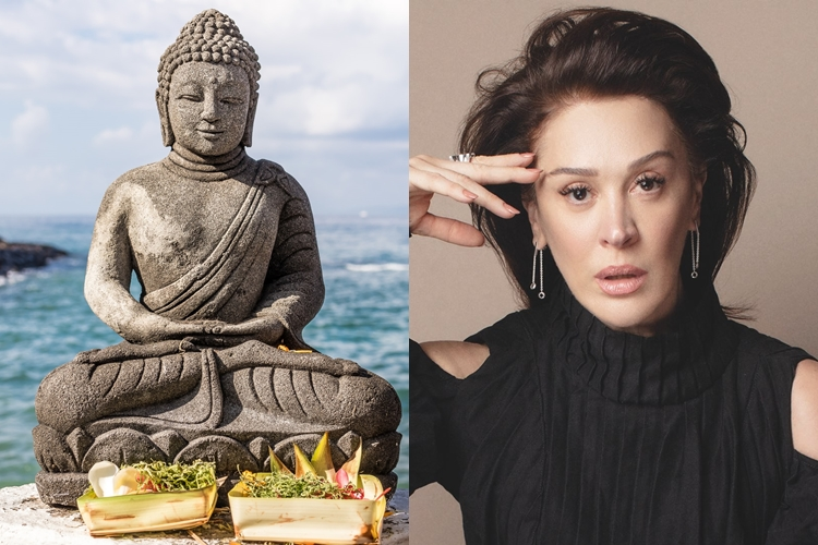 Budismo - Claudia Raia.
