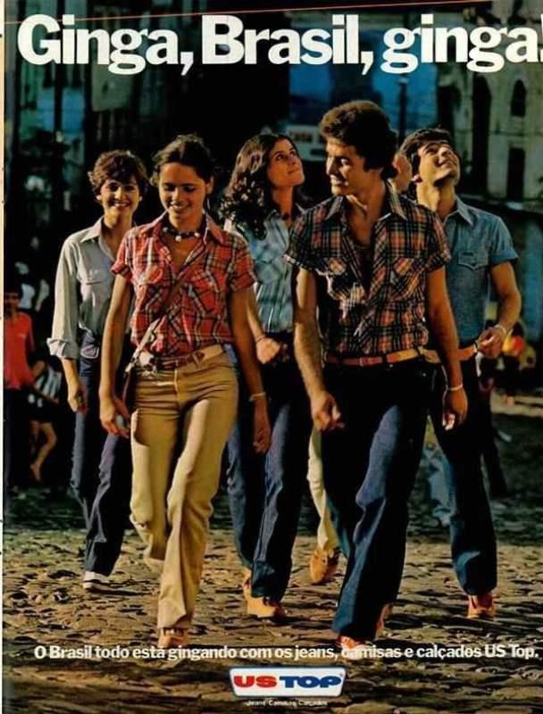 Publicidade da US TOP nos anos 80.