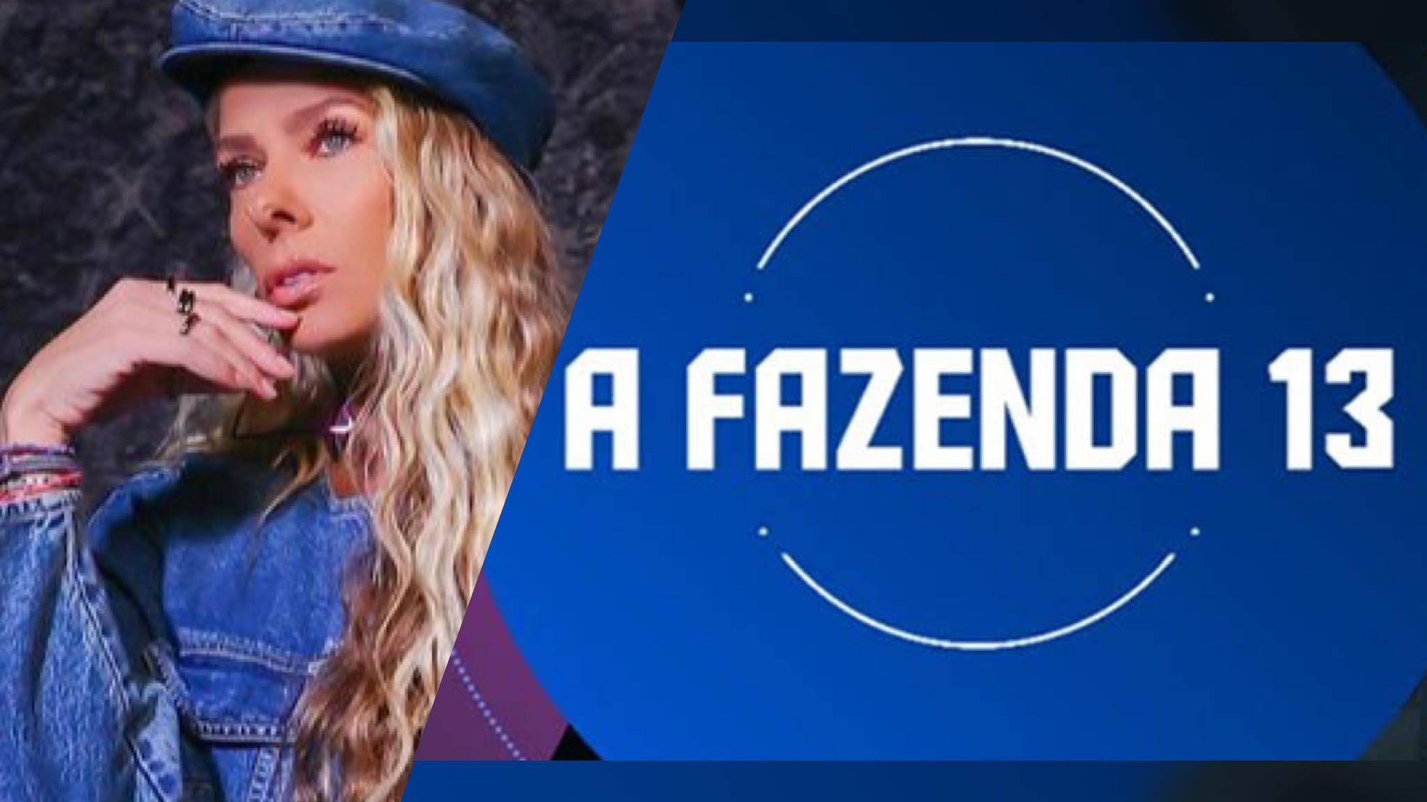 Adriane Galisteu deve ser anunciada como apresentadora de A Fazenda 13 semana que vem (montagem: Fashion Bubbles)