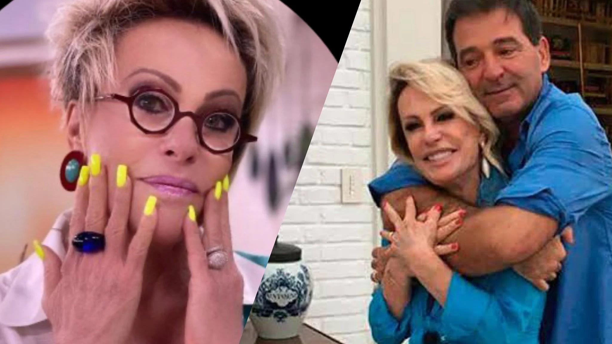 Ana Maria Braga não está mais casada, segundo Fabíola Reipert (montagem: Fashion Bubbles)