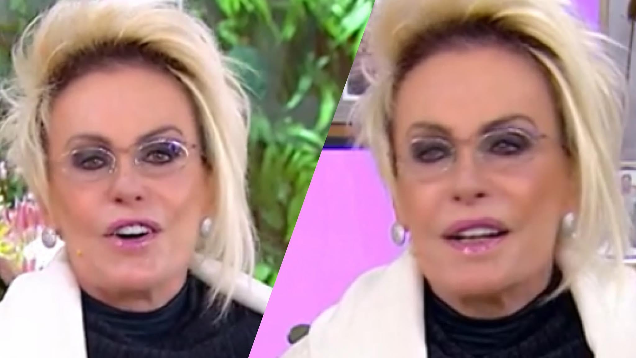 Ana Maria Braga usa traje inusitado e internautas comparam casaco com um roupão (montagem: Fashion Bubbles)