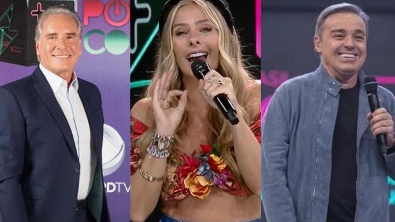 Roberto Justus e Gugu também já apresentaram o Power Couple (montagem: Fashion Bubbles)