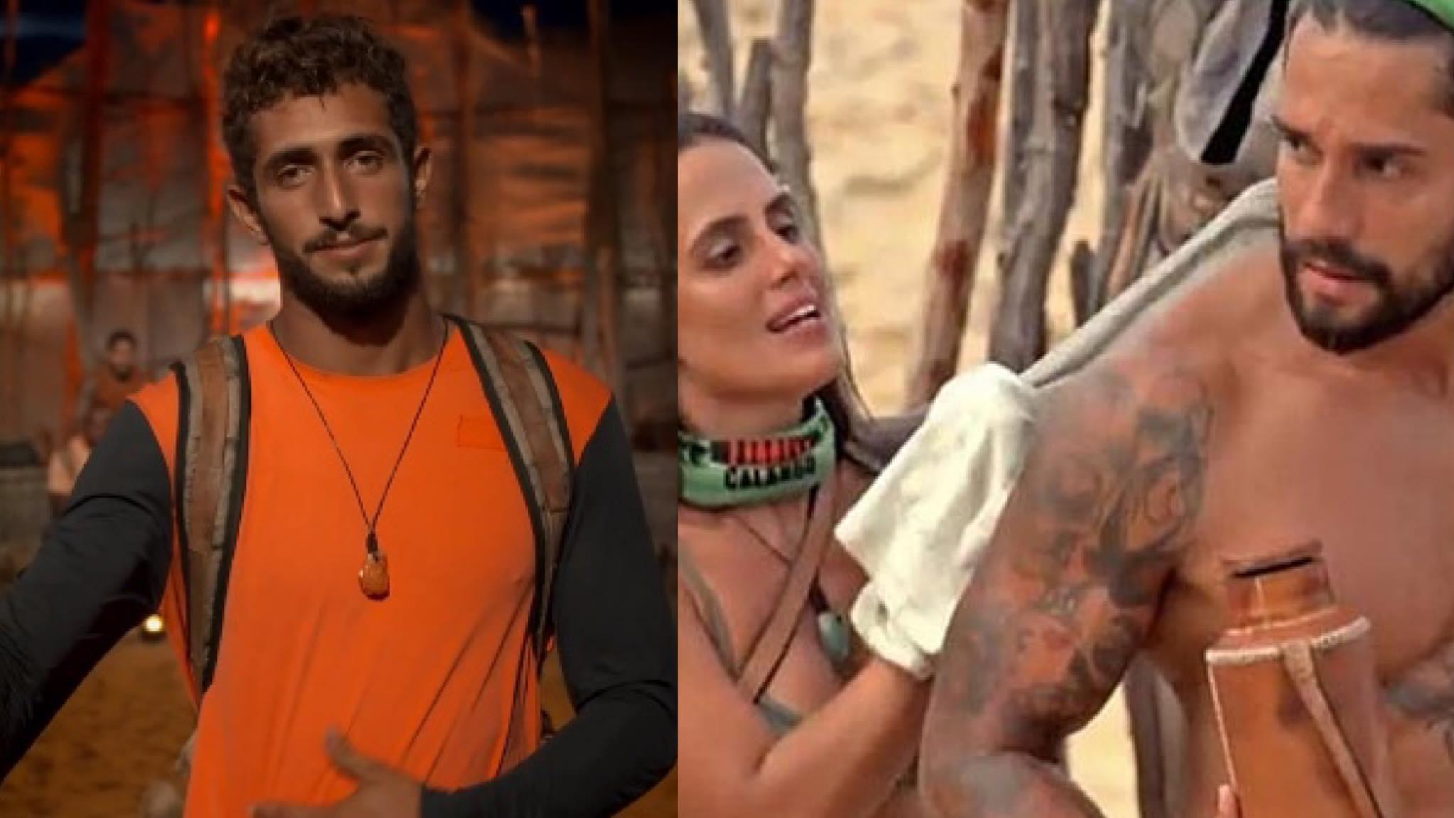 Eliminação de Lucas Chumbo e flerte de Carol Peixinho e Bil agitaram episódio de No Limite (montagem: Fashion Bubbles)