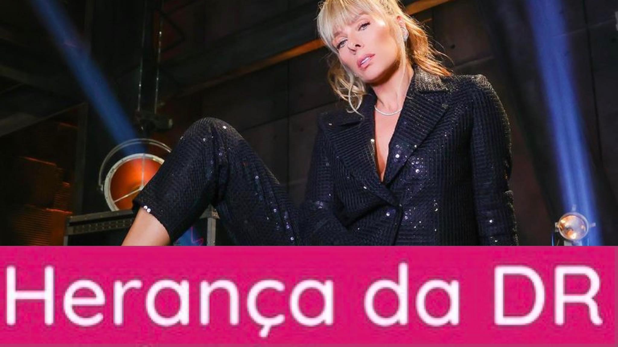 """Adriane Galisteu irá anunciar o resultado dos votos na quinta-feira. A Enquete Power Couple Fashion Bubbles quer saber qual a """"melhor"""" herança essa semana? (imagem: reprodução)"""