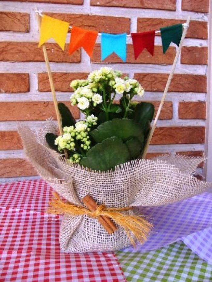 Vaso de flor.