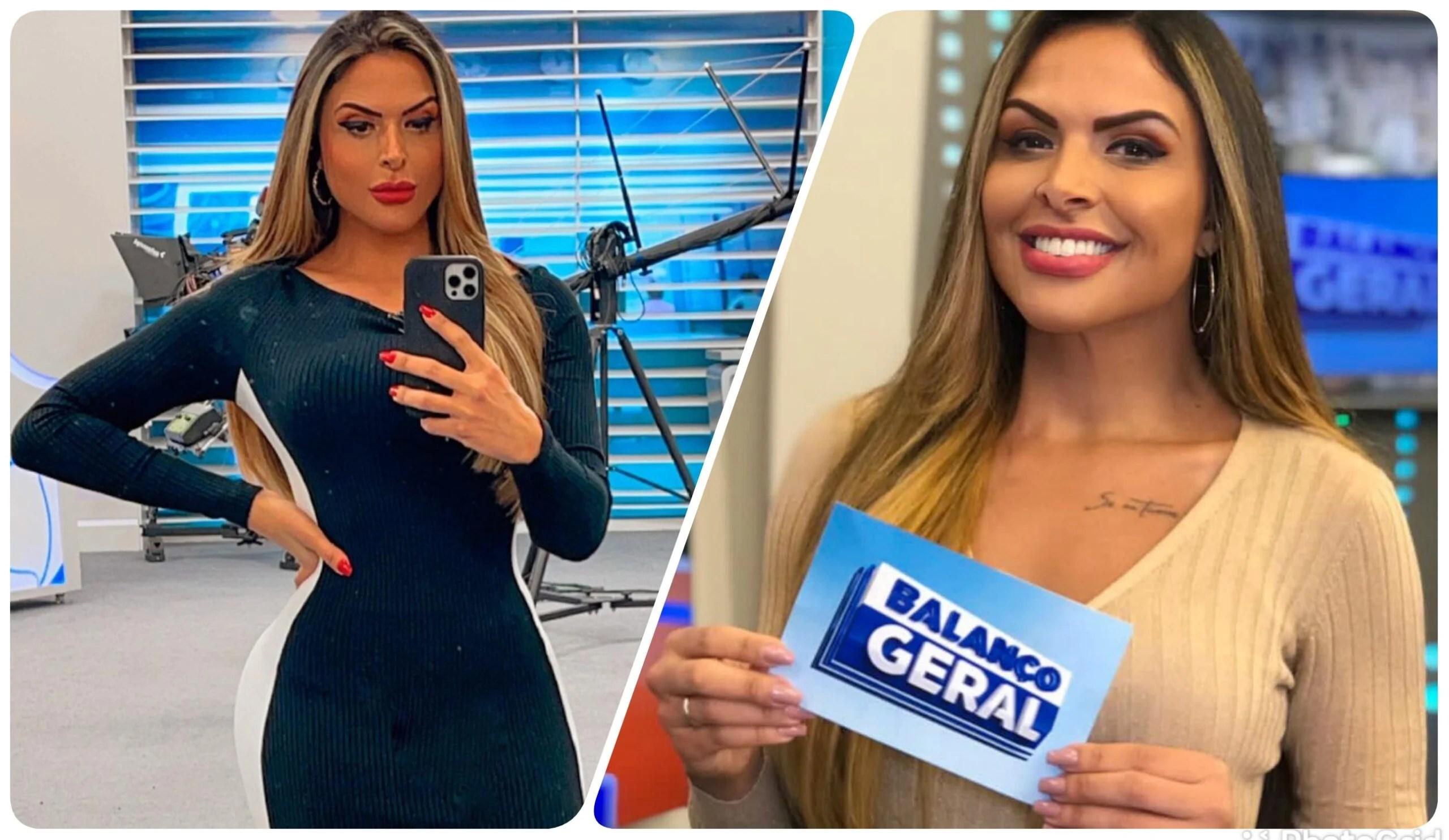 Silvye Alves, apresentadora da Record TV.