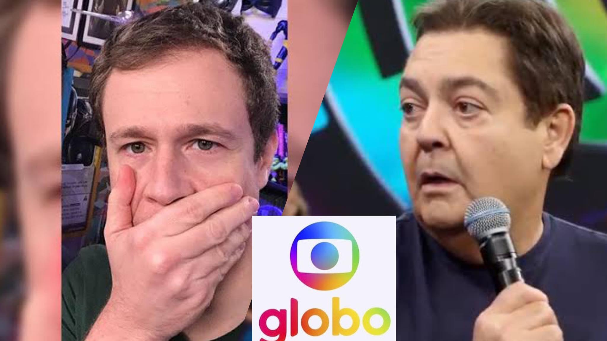Globo decide antecipar a saída de Faustão e convoca Tiago Leifert para assumir o Super Dança dos Famosos (montagem: Fashion Bubbles)