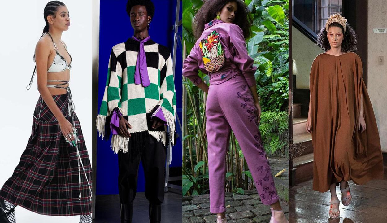 4 Looks do segundo dia da São Paulo Fashion Week.