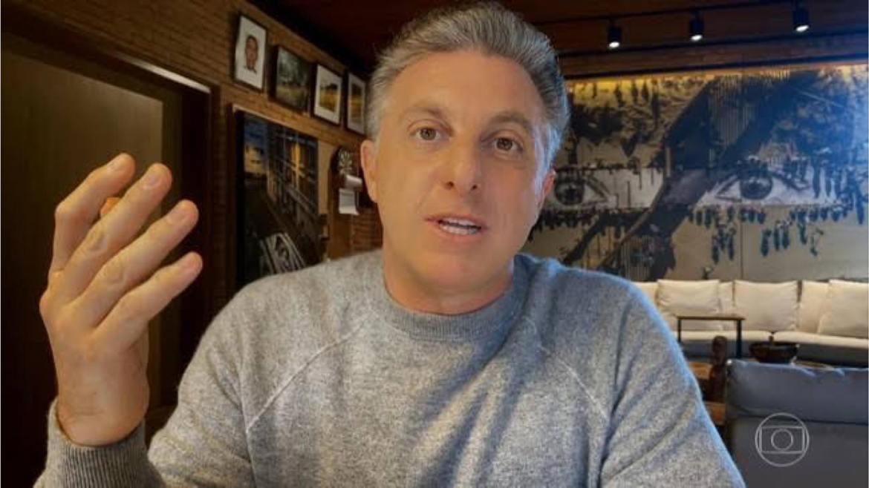 Luciano Huck diz que votou em branco nas últimas eleições (imagem - reprodução: Globo)