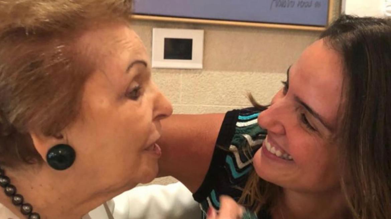 Lu Cardoso, esposa de Faustão prestou homenagem à sogra (imagem: Instagram)