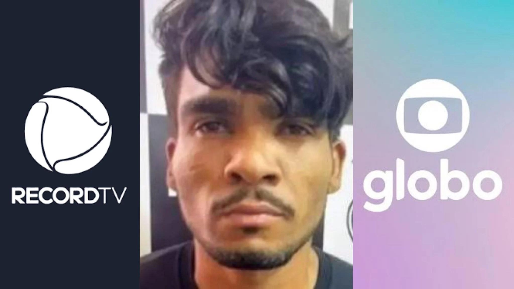 A morte de Lázaro faz a audiência da Record TV bater a Globo (montagem: Fashion Bubbles)