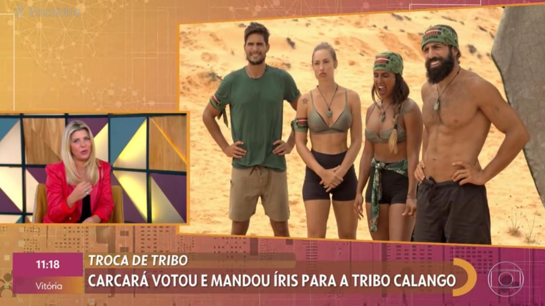 Íris fala sobre a eliminação e briga de No Limite (imagem: reprodução/Globo)